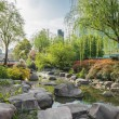 Stock Photo: Scenic view of gucheng park shanghai china