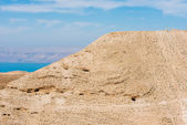 Mountain of The Herod's castle machareus jordan — Stock Photo