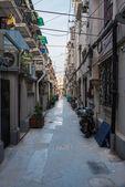 Side street of shanghai china — Stock Photo