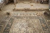 Mosaic Roman ruins, Um Ar-Rasas, Jordan — Stock Photo