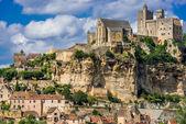 Chateau de beynac france — Stock Photo