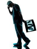 Doctor surgeon radiologist — Stock Photo