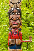 Indian totem — Stock Photo