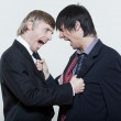 Two friends men dispute conflict — Stock Photo #31532977