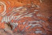 Rocks caves in nabatean city of petra jordan — Stock Photo