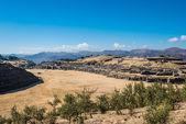 Sacsayhuaman ruins peruvian Andes Cuzco Peru — Stock Photo