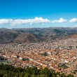 Stock Photo: Cuzco cityscape peruviAndes