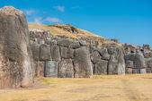 Sacsayhuaman ruins peruvian Andes Cuzco Peru — Foto de Stock