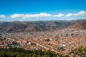 Cuzco cityscape peruvian Andes — Stock Photo