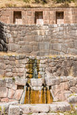 Tambomachay ruins peruvian Andes Cuzco Peru — Stock Photo