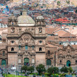 Stock Photo: Aerial view of Cuzco city peruviAndes