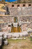 Tambomachay ruins peruvian Andes Cuzco Peru — Stok fotoğraf
