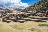 Tipon ruins peruvian Andes Cuzco Peru — Stock Photo