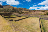 Tipon ruins peruvian Andes Cuzco Peru — Stok fotoğraf