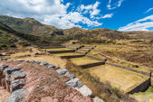 Tipon ruins peruvian Andes Cuzco Peru — Foto de Stock