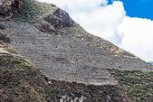 Pisac ruins peruvian Andes Cuzco Peru — Stock Photo