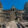 Stock Photo: Courtyard angkor wat cambodia