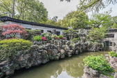 Yuyan garden shanghai china — Stock Photo