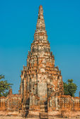 Wat Chai Watthanaram temple — Stock Photo