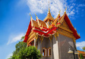 The Buddhist temple in Thailand — Stock Photo