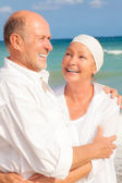 Smiling mature couple — Stock Photo