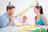 First birthday — Stock Photo