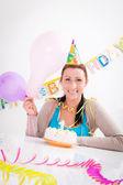 Birthday female — Stock Photo