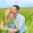 Stock Photo: Love green