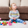 Home playing child — Stock Photo