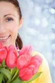 Flowers portrait — Stock Photo