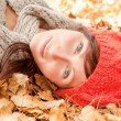 Stock Photo: Happy autumn season