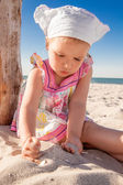 Summer holiday child — Stock Photo