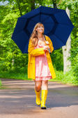 Singing the rain — Stock Photo