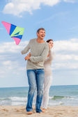 Kite blow — Stock Photo