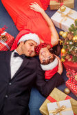 Christmas delivery — Stock Photo