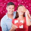 Stock Photo: Love surprise