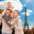 Valentine in paris — Stock Photo