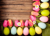 greeting easter — Foto Stock