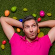 Stock Photo: Green easter
