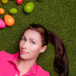 Stock Photo: Easter portrait
