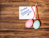 Happy german easter — Stock Photo