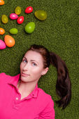 Easter portrait — Stock Photo