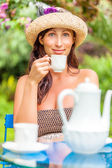 Teatime — Stock Photo