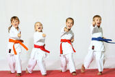 Sport karate — Stock Photo