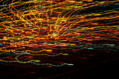 Multidirectional bright multicolored curves beautiful lines — ストック写真