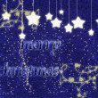 Merry christmas background with stars. — Stock Photo