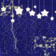Christmas background with stars. — Stock Photo
