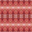 Seamless red decorative pattern - Stock Photo