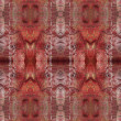Seamless red aggressive  pattern. - Stock Photo