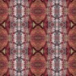 Seamless red decorative pattern. - Stock Photo